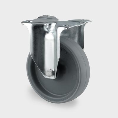 Roata fixa cu janta din poliamida 80x108mm