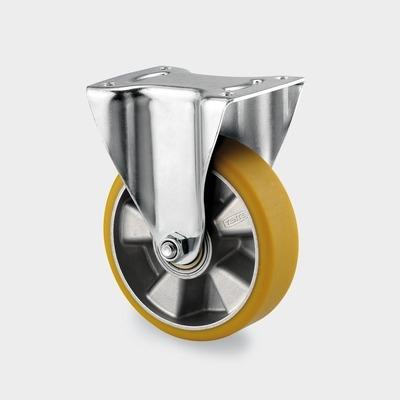 Roata pivotanta cu janta din aluminiu 125x161mm