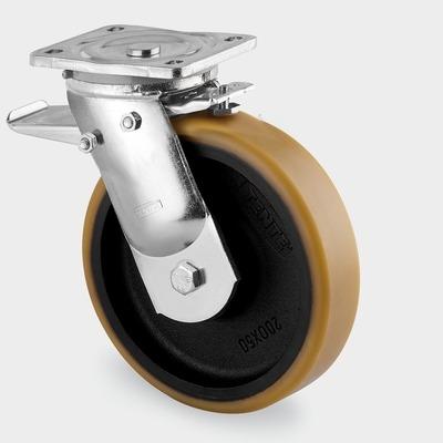 Roata pivotanta cu janta din fonta 125x50mm