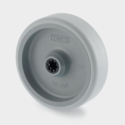Roata pivotanta cu janta din poliamida 100×44.4mm