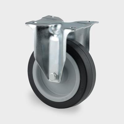 Roata pivotanta cu janta din poliamida 125x161mm