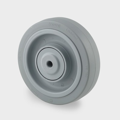 Roata pivotanta cu janta din poliamida 160x60mm