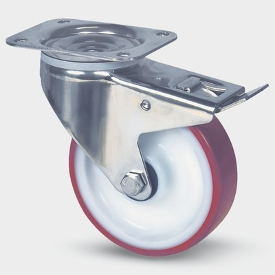 Roata pivotanta cu janta din poliamida 200x240mm