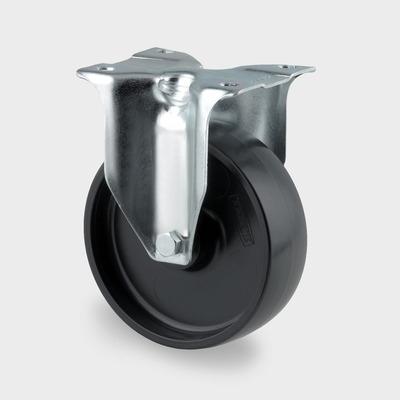 Roata pivotanta cu janta din polipropilena 100x128mm