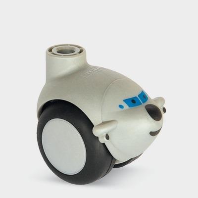 Roata pivotanta cu janta din polipropilena 50×8.5mm