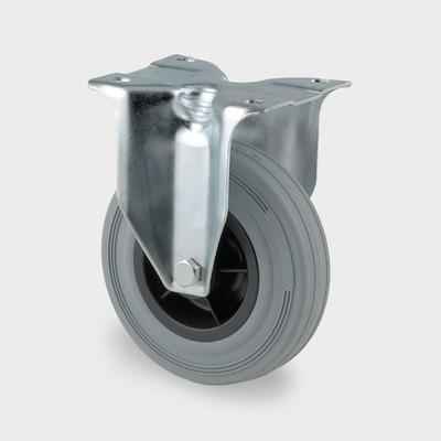 Roata pivotanta cu janta din polipropilena 80x35mm