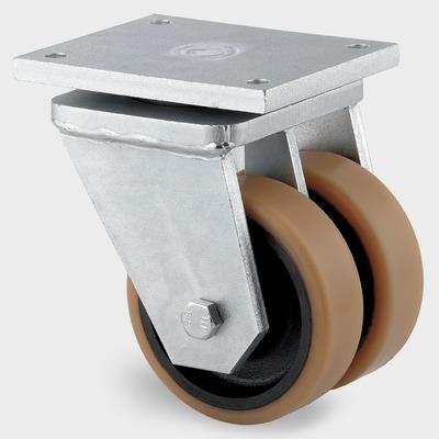 Roata pivotanta cu janta din tabla de otel 500x610mm