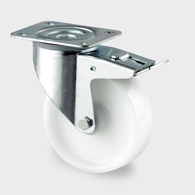Roata pivotanta din poliamida 200x240mm