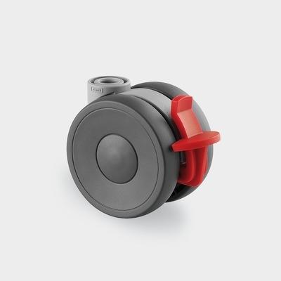 Roata pivotanta din polipropilena 65×13.9mm
