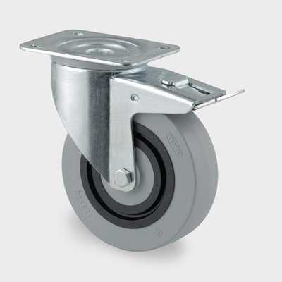 Roata pivotanta tip SYNTECH 100x128mm
